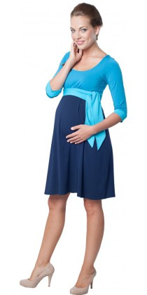 Těhotenské šaty - Nataly Blue