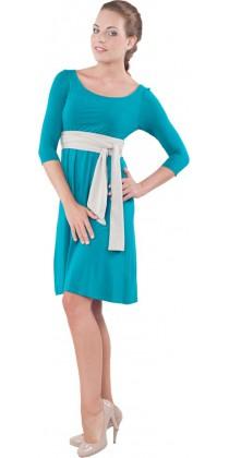 Těhotenské šaty - Sofia Emerald Green