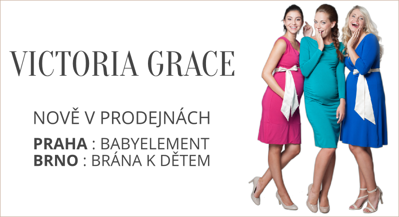 Šaty Victoria Grace nyní v nabídce brněnského obchodu Brána k dětem a pražském Babyelement