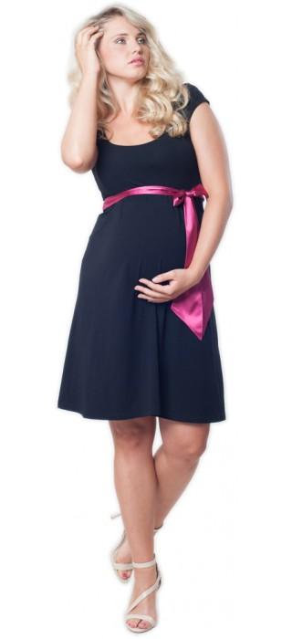 Těhotenské šaty - Adele Black