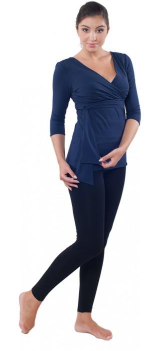 Těhotenská trička & bolerka & legíny - Lisa Navy