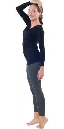 Těhotenská trička & bolerka & legíny - Simone Black