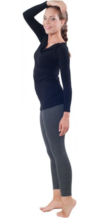 Těhotenská trička & mikiny & legíny - Simone Black