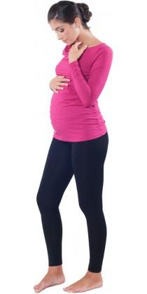 Těhotenská trička & mikiny & legíny - Simone Magenta