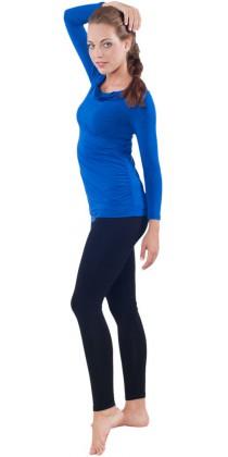 Těhotenská trička & legíny - Simone Royal Blue