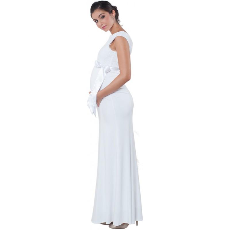 Tehotenske Svatebni Saty White Goddess