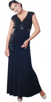 2dadcf65d00 Těhotenské šaty - MEGHEN TWILIGHT BLACK Long ...