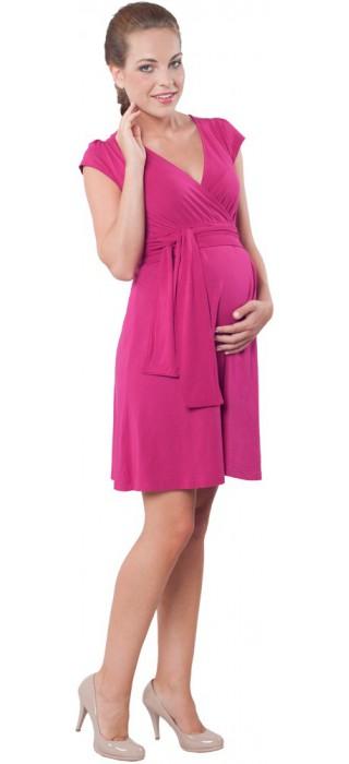 Těhotenské šaty - Annie Magenta