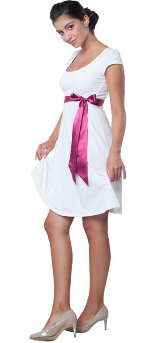 Těhotenské svatební šaty - Adele White