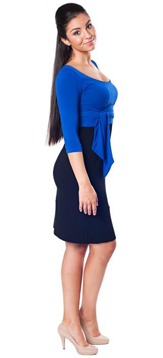 Těhotenské šaty - Andrea Royal Blue