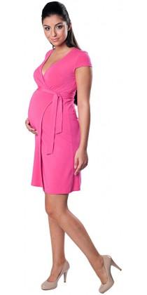 Těhotenské šaty - Carolline True Pink