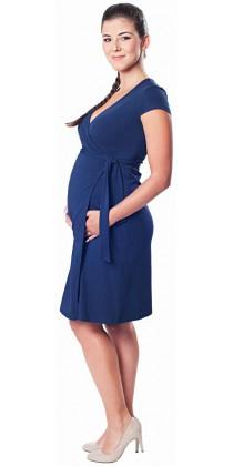 Těhotenské šaty - Carolline Navy