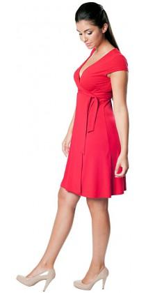 Těhotenské šaty - Carolline Red