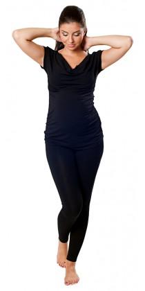 Těhotenská trička & bolerka & legíny - Tina Black
