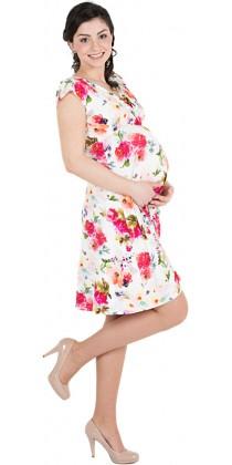 Těhotenské šaty - Gabrielle French Rose