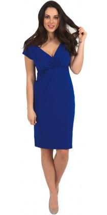 Těhotenské šaty - Sarah Royal Blue