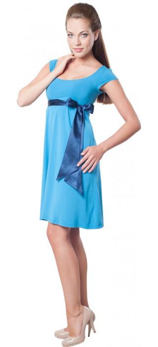 Těhotenské šaty - Adele Blue