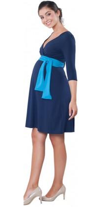 Těhotenské šaty - Catherine Navy