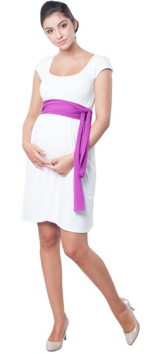 Těhotenské šaty - Adele White