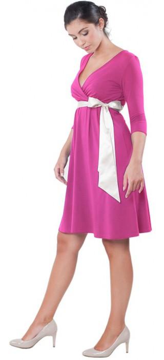 Těhotenské šaty - Catherine Lilac