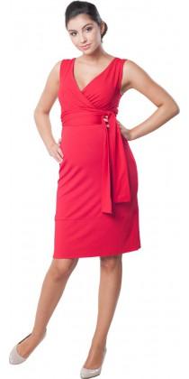 Těhotenské šaty - Meghen Red