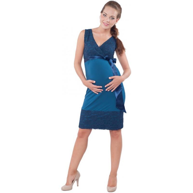 e707ddd3815 Meghen Midnight Blue - Těhotenské šaty