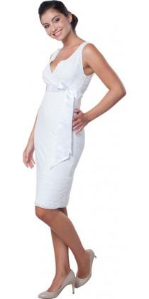 Těhotenské svatební šaty - Meghen Snow White