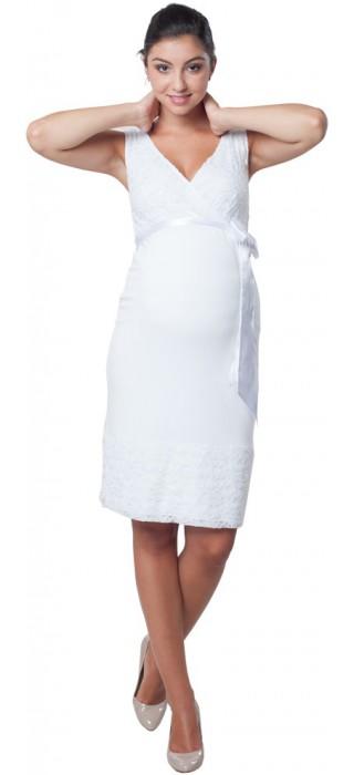 Těhotenské šaty - Meghen Snow White