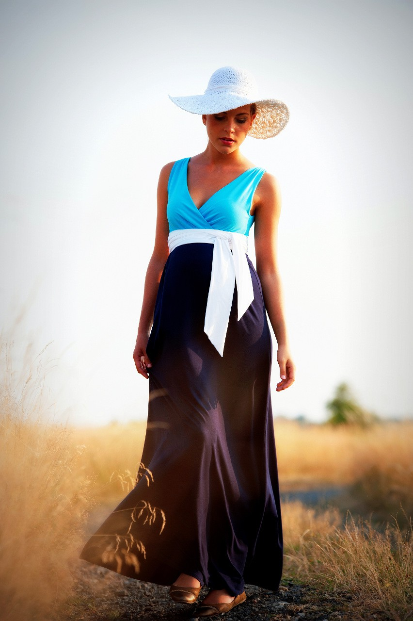 Madeline Blue Long